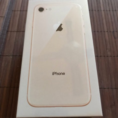 Vand Iphone 8 Nou 64 BG - Telefon iPhone Apple, Auriu, 64GB, Neblocat