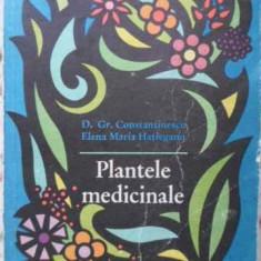 Plantele Medicinale - D. Gr. Constantinescu Elena Maria Hatieganu, 406810 - Carte Medicina alternativa