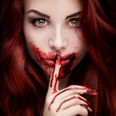 Sange fals pentru Halloween, tub gel 10 ml, efecte speciale, PaintGlow - Face painting copii