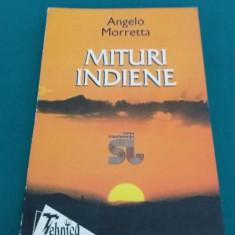 MITURI INDIENE/ ANGELO MORRETTA/ 1998 - Carti Hinduism