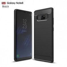 Carcasa de protectie Carbon Fiber din silicon TPU pt Samsung Galaxy Note 8