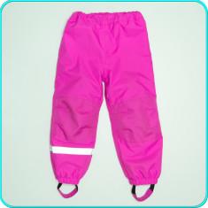 Pantaloni de iarna, impermeabili, căptușiți, H&M → fete | 4-5 ani | 104-110 cm, Marime: Alta, Culoare: Roz