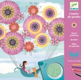 Joc creativ de facut spirale Marguerite - Djeco