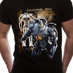 Tricou Pacific Rim - Robot - Tricou barbati, Marime: L, Maneca scurta