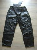 Pantaloni din piele ALEXANDER WANG noi cu eticheta, L, Negru