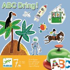 Joc de societate abecedar - ABC Dring Djeco - Joc board game