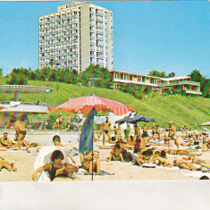 Bnk cp Eforie Nord - Plaja - circulata - Carte Postala Dobrogea dupa 1918, Printata