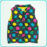 Vesta din catifea reiata, groasa, calduroasa, CARTER'S → fete   5—6 ani   116 cm, Multicolor