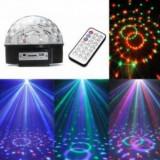 Glob disco cu mp3 player si stick USB
