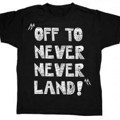 Tricou Bebe Metallica - Off to Neverland, Marime: M, L