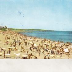 Bnk cp Eforie - Plaja - uzata - Carte Postala Dobrogea dupa 1918, Circulata, Printata