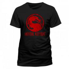 Tricou Mortal Kombat - Red Logo - Tricou barbati, Marime: S, M, XL, Maneca scurta