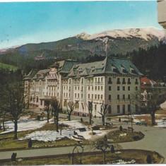 Sinaia-Carte Postala circulata-Hotel