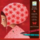 Joc creativ Djeco - Motive colorate - Jocuri arta si creatie