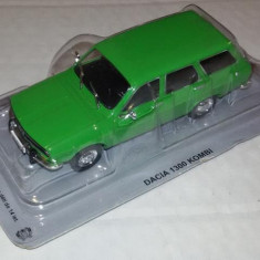 Macheta Dacia 1300 Kombi Masini de Legenda Polonia scara 1:43 - Macheta auto