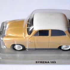 Macheta Syrena 103 Masini de Legenda Polonia scara 1:43 - Macheta auto