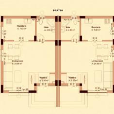 Vila Dobroesti - Casa de vanzare, 125 mp, Numar camere: 4, Suprafata teren: 274