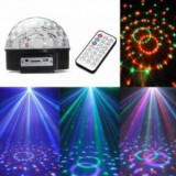 Glob disco cu mp3 player si stick USB