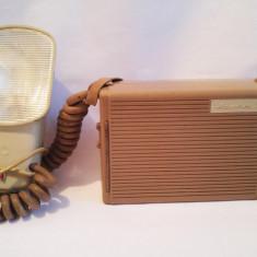 (T) Blitz Porst Hapotron III cu acumulator, vechi, vintage, anii 50-60, colectie
