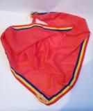 (T) Cravata pionier, anii 70, uzata