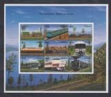 LIBERIA 1999 TRENURI LOCOMOTIVE, Nestampilat