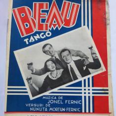 (T) Partitura muzicala veche, Beau - Tango