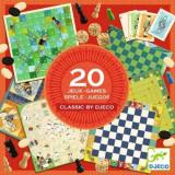 Colectia Djeco - 20 jocuri clasice - Joc board game