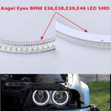 Kit Angel Eyes LED SMD - BMW E36,E39,E46 cu led-uri si releu pe cablu. LED .