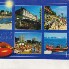 Bnk cp Eforie Nord - Vedere - circulata - Carte Postala Dobrogea dupa 1918, Printata