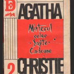 (C7904) MISTERUL CELOR SAPTE CADRANE DE AGATHA CHRISTIE