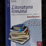 LITERATURA ROMANA BACALAUREAT ESEUL PAICU LUPU LAZAR
