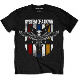 Tricou System of a Down - Eagle Colours - Tricou barbati, Marime: S