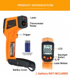 Termometru digital cu infrarosu senzor laser