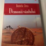 DEMONII VÂNTULUI - Daniela Zeca (carte - roman)
