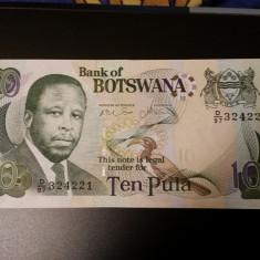 BOTSWANA - 10 PULA 2007 UNC - 324221 - bancnota africa
