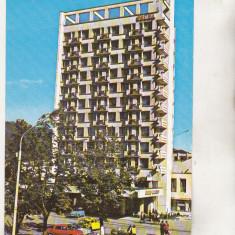 Bnk cp Campulung Moldovenesc - Hotelul Zimbru - circulata - marca fixa - Carte Postala Bucovina dupa 1918, Printata