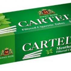 CARTEL MENTHOL 200 X 5 cutii + TABACHERA METALICA COMBI - Foite tigari