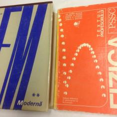 Lot 2 carti: R. Feynman - Fizica moderna vol. 2; Fizica PSSC Textul profesorului - Carte Fizica