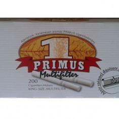 PRIMUS MULTIFILTER 200 X 5 cutii + TABACHERA METALICA COMBI - Foite tigari