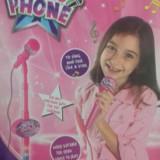 Microfon cu MP3 - Instrumente muzicale copii