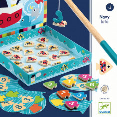 Joc educativ Navy Loto Djeco