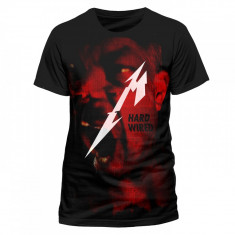 Tricou Metallica - Hardwired Premium - Tricou barbati, Marime: M, Maneca scurta