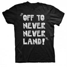 Tricou Copii Metallica - Off To Neverland, Marime: S, M