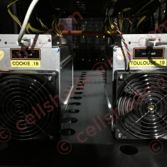 8x IN STOC !! 19.5GH / s Bitmain D3 (Antminer) including 1600Watt APW3 ++