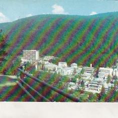 Bnk cp Slanic Moldova - Vedere generala - circulata - Carte Postala Moldova dupa 1918, Printata