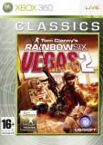 Tom Clancy's - Rainbow Six - Vegas 2 CLASSICS - XBOX 360 [Second hand], Shooting, 16+, Multiplayer
