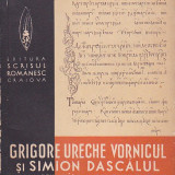 GRIGORE URECHE VORNICUL SI SIMION DASCALUL - LETOPISETUL TARII MOLDOVEI ( 1939 ) - Carte veche