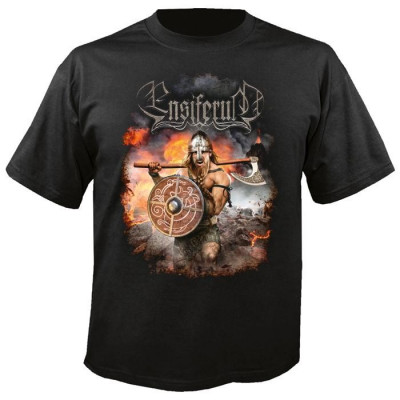Tricou Ensiferum - Viking Warrior foto