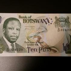 BOTSWANA - 10 PULA 2007 UNC - 324220 - bancnota africa