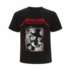 Tricou Metallica - Hardwired Concrete Band - Tricou barbati, Marime: S